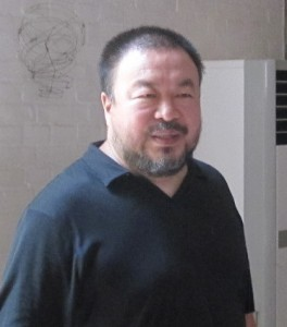 Ai Weiwei in his Beijing studio, June 2009