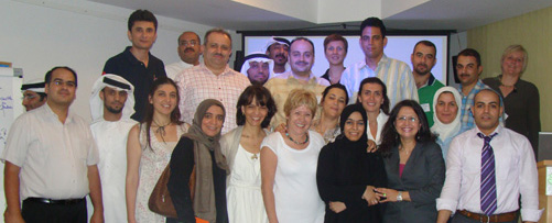 Workshop participants in Abu Dhabi