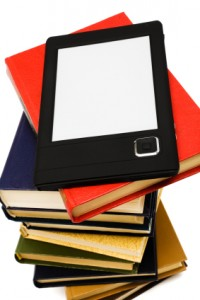 e-book and print books