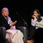 Anita and Kiran Desai (photo by Belinda Otas)