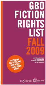 GBO Fall 2009 Rights List