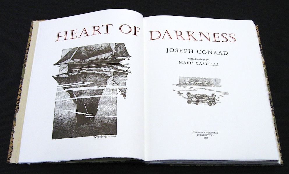 the descriptiveness of conrads heart of darkness The novella heart of darkness was written by the british novelist joseph conrad and appeared, before its publication in 1902, as a three-part series the story provides readers with a glimpse into the mind and soul of marlow as he travels through the literal heart of darkness and comes face-to-face with.