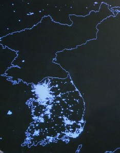 North Korea as Seen from Space