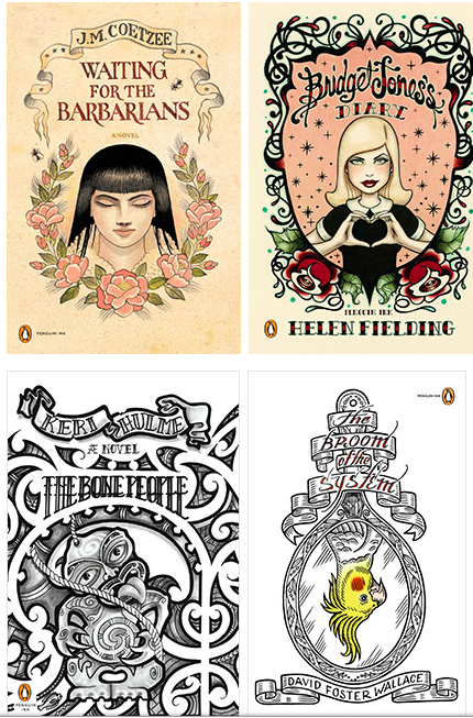 "Literary ""Ink"": Behind Penguin's Tattoo Covered Modern Classics"