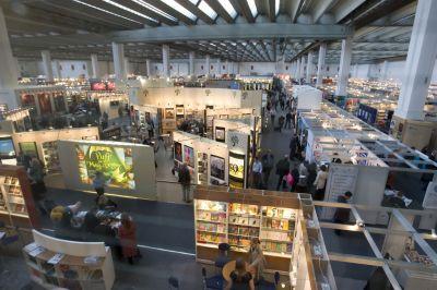 Hall 8.0 at the Frankfurt Book Fair