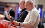 Visitors test e-reading devices at the Frankfurt Book Fair (Photo © Frankfurt Book Fair)