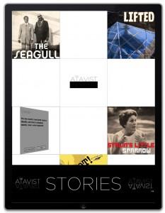 The Atavist app