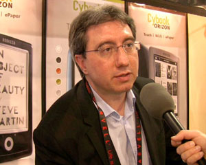 Laurent Picard, cofounder of Bookeen