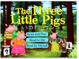 Three Little Pigs App