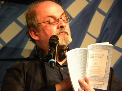 Salman Rushdie at FLIP