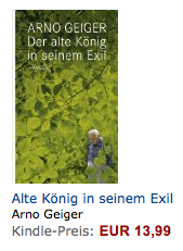 Arno Geiger in Kindle store