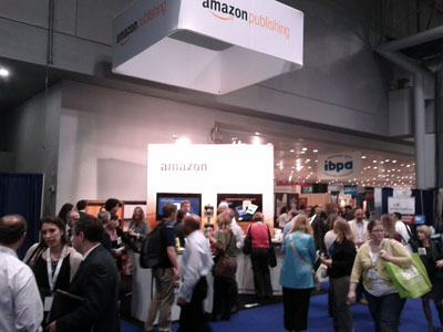 Amazon Publishing booth at BEA