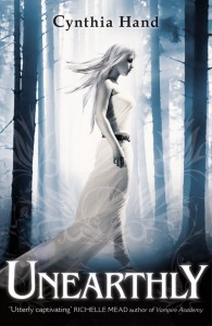 UK book cover of Unearthly