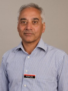 Sam Husain, CEO of Foyles