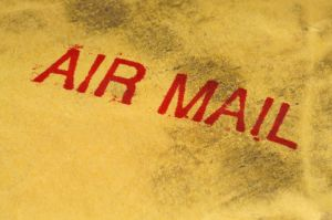 air mail shipping