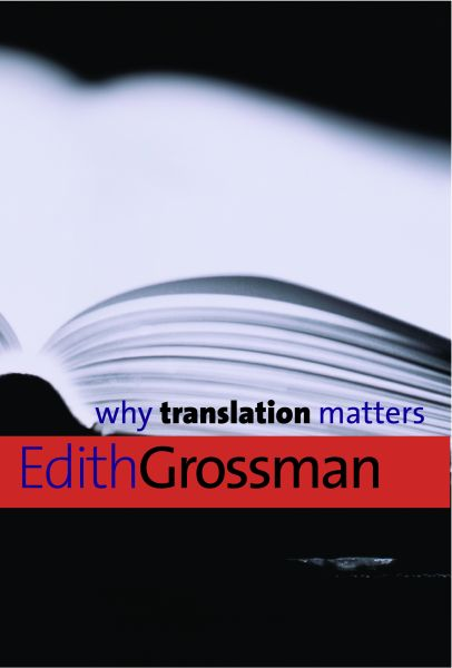 Why Translation Matters by Edith Grossman