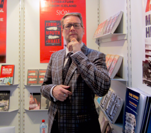 Icelandic author Sjón in Frankfurt