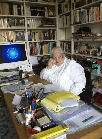 Literary agent Carmen Balcells