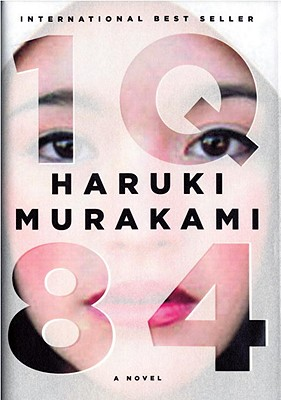Chip Kidd's book cover design for Murakami's latest book, 1Q84