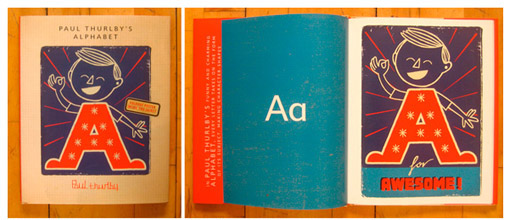 a is for awesome  paul thurlby on making the alphabet new