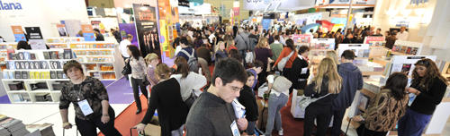 Librarians at the Buenos Aires Book Fair