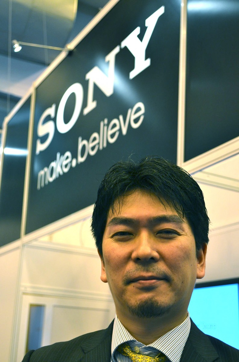 Tadamasa Kitsukawa, MD of the Sony Digital Reading Platform