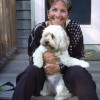 Rosemary Stimola and her dog Zoe