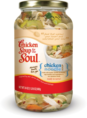 CHICKEN SOUP FOR THE SOUL FOODS LLC CHICKEN NOODLE SOUP