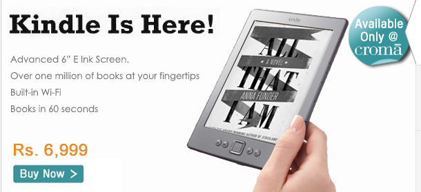 Amazon only launched its Kindle in India last month, but it might be short-lived.