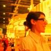 Cecilia Esposito at Buenos Aires Book Fair