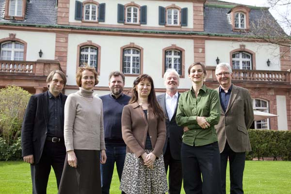 Jury members for the 2012 German Book Prize