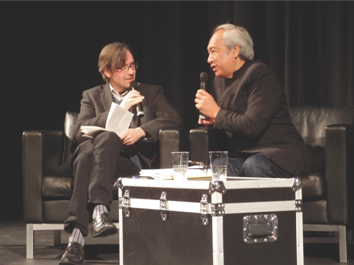 New Zealand author Witi Ihimaera spoke at the Frankfurt Book Fair. New Zealand is the 2012 Guest of Honor.