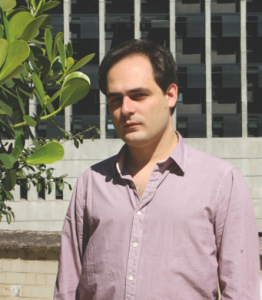 Fábio Lima coordinates the Translation Grants Program of the Brazilian National Library