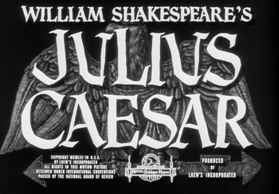 title brando Julius Caesar