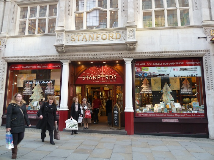 Stanfords frontage
