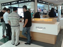 Amazon has added retail kiosks as a physical sales channel for Kindles in Brazil.
