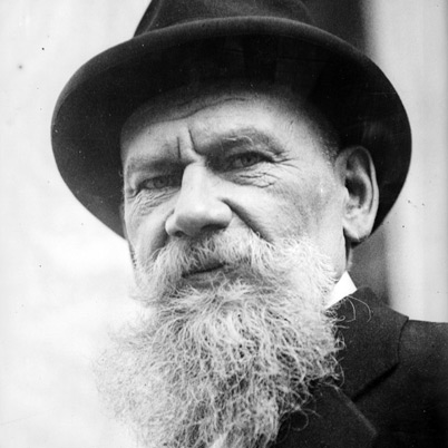 Leo Tolstoy had no idea what a Nook was, and yet...
