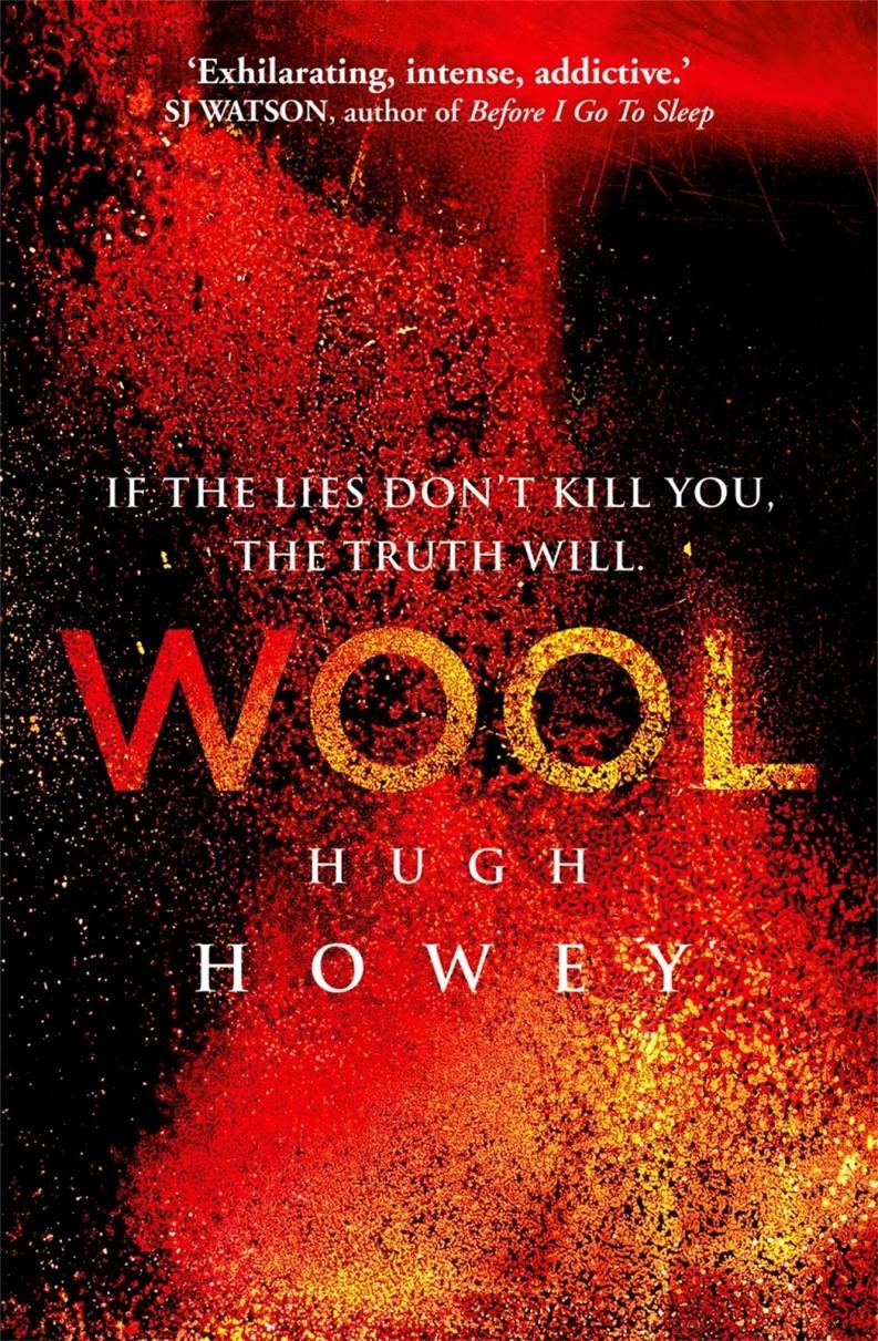 Wool Omnibus red by Hugh Howey  @hughhowey