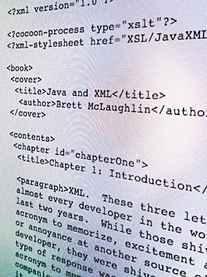 xml code example