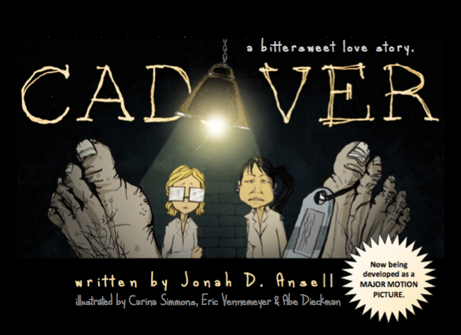 CADAVER - written by jonah ansell