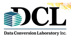 Data Conversion Laboratory DCL