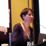 Agent Kristin Nelson addressed Writer's Digest Conference East in New York earlier this month.