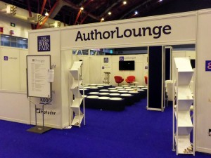 Authoright programmed the Author Lounge at London Book Fair.