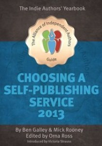 Choosing a Self-Publishing Service 2013