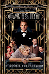 Gatsby 2013 film cover with Leo