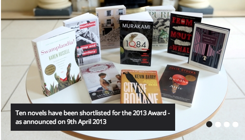 Ten Novels on IMPAC Shortlist
