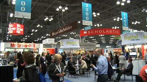 A shot from BookExpo America 2012