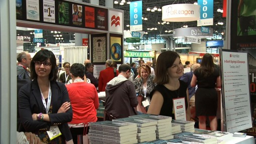 31 May 2013 BEA shot from 2012 - in the aisles - BookExpo America photo