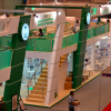 Saudi Arabia's stand at the Abu Dhabi International Book Fair