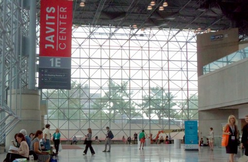 At the Jacob Javits Center during BEA 2013 | Photo: Porter Anderson